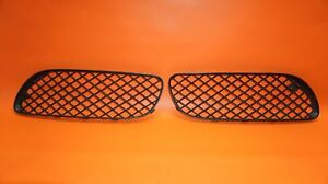 Bentley Gt Gtc Grille Lower Left And Right 2004 2005 2006 2007 2008 3w807682a