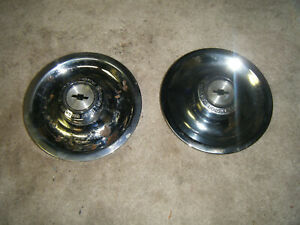 2 Chevrolet Chevy Motor Division Disc Brake Rally Ralley Wheel Rim Center Caps