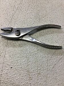 Snap On Usa Vacuum Grip No47 Slip Joint Pliers 7 1 2 Vintage Cbr3
