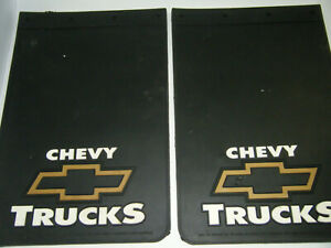 Vintage Plasticolor Chevy Truck Mud Flaps Guards 12 X 18 Heavy Duty Licensed