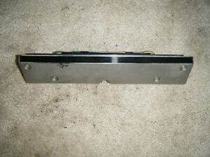 83 87 Chrysler New Yorker Turbo Fuel Trunk Door Washer Warning Light Panel 2 2