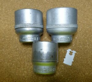 Williams W 3 4 Drive Shallow 12 Point Sockets H 1246 H 1252 And H 1256