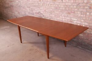 Falster Danish Modern Teak Boat Shaped Extension Dining Table Newly Restored