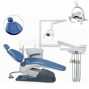 Dental Unit Chair Hard Leather Hidentist Use Computer Controlled lamp Led Light