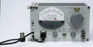 Gr General Radio 1232a Tuned Amplifier Null Detector 1232 a With 1232 p2 Preamp