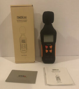 Tacklife Sound Level 30 130db Meter mlmo2 Test Measure Inspect new In Box