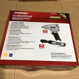 1 2 In Impact Wrench And 3 8 In Air Ratchet Cobo Set