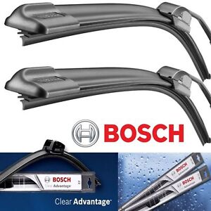 2 Bosch Clear Advantage Wiper Blade Size 24 20 Front Left And Right