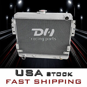 3 Row Aluminum Radiator Fit 1975 1976 1977 78 Ford Mustang Ii 302 V8 Engine 514