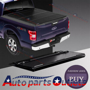 3 Fold 5ft 5 Bed Hard Solid Tonneau Cover For 2014 18 Ford Ranger Truck New
