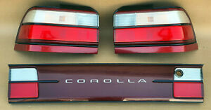 Toyota Corolla Ae100 Ae101 Super Rare Tail Lights With Garnish Set Oem Jdm Used
