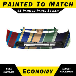New Painted To Match Front Bumper Cover For 2006 2008 Honda Civic Sedan Hybrid