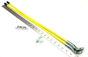 Meyer Snow Plow Guide Markers Yellow 28 Bent Ends 09916
