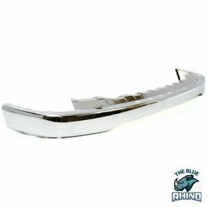 New Front Bumper Chrome For 2001 2002 2003 2004 Toyota Tacoma Pickup To1002174