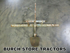 Toolbar Row Buster For David Bradley 3 Point Hitch Lawn Tractor Or Mower