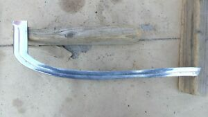 1941 Chevy Right Lower Grille Trim Molding Original Gm Special Master Deluxe