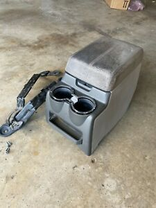 2008 2010 Ford F250 F350 Center Console With Bracket Lid Need Change 08 09 10