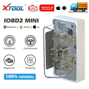 Xtool Iobd2 Mini Bluetooth Obd2 Code Reader Diagnostic Scanner For Ios Android