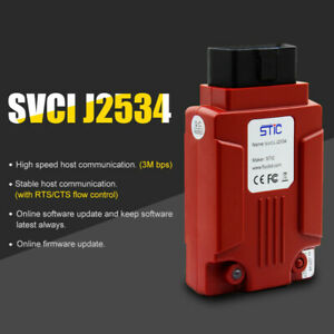 Svci J2534 Diagnostic Tool For Ford Mazda Ids V118 Support Module Programming
