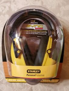 New Stanley Sync Digital Am fm mp3 Radio hearing Protection Headphones Rst 63012