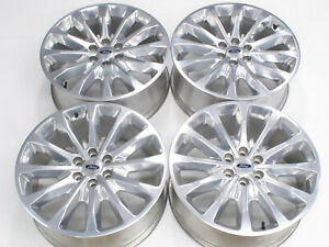 Genuine Limited 22 Oem Ford Factory F 150 Polished Alloy Wheels