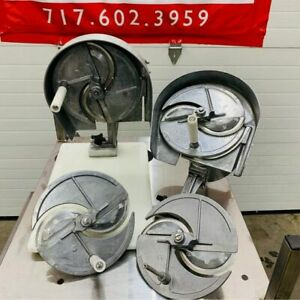 2 Nemco 55200an Food Slicers 1 16 To 1 2 W mount 2x Carrier Assemblies