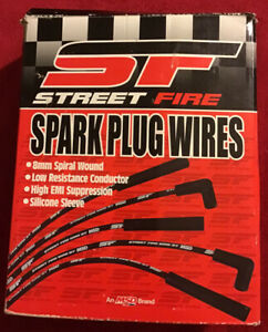 Street Fire Msd Ignition 5551 Spark Plug Wire Set New