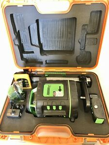 Johnson 40 6543 Self leveling Rotary Laser Level With Greenbrite Technology