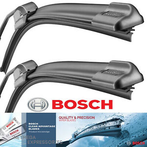 Bosch Beam Wiper Blades 20 20 Set Of 2 Clear Advantage Front Left Right