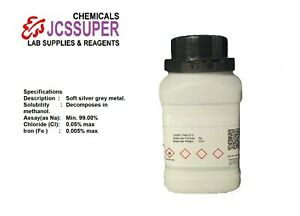 100 Pure Sodium Metal na With Msds And Coa 7440 23 5 Worldwide Delivery