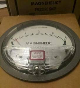 Dwyer Model 2004 Magnehelic Pressure Gage New In Box Free Shipping