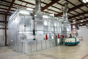Col met Paint Booth Mixing Room Amu Fire Suppression System 2016