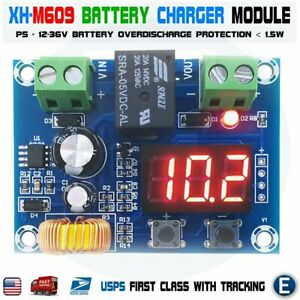 Xh m609 12 36v Battery Low Voltage Disconnect Protection Module Dc Output Led Us
