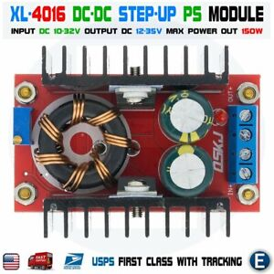 Xl4016 Dc dc 10 32v To 12 35v 150w Step up Power Supply Boost Converter Module