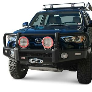 For Toyota Tacoma 16 20 Bumper Summit Full Width Textured Black Front Winch Hd