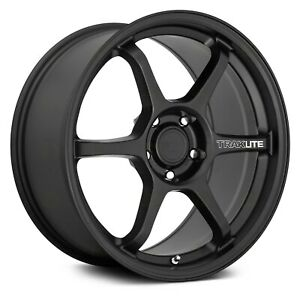 Motegi Racing Mr145 Traklite 3 0 Wheels 18x9 5 45 5x114 3 Black Rims Set Of 4