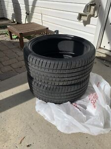Lightly Used P245 35r20 Goodyear Eagle F1 Run Flats