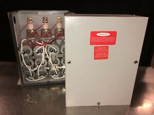 Ge Power Factor Correction Capacitor 45 Kvar 480v 3 Phase 65l823te1 Our 1