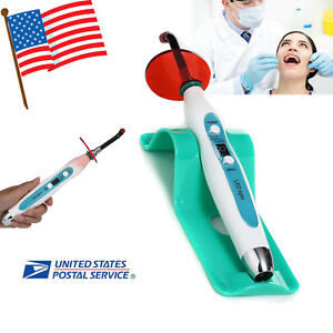 Usa Dental Big Power Wireless Led Curing Light Lamp 2000mw cm Battery 2200ma h