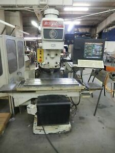 Bridgeport Series 2 Cnc Knee Mill 1980 4 Hp With Extra Parts
