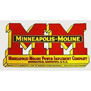 R1920v Mm Logo Decal Fits Minneapolis moline