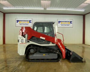 2019 Takeuchi Tl10v2 Cab Track Loader With A c And Heat