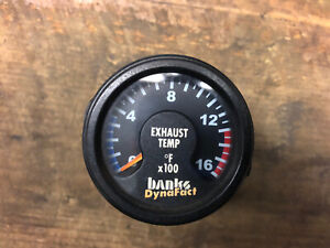 Banks Dynafact Exhaust Gas Temperature Egt Gauge Diesel Dodge Ford Chevy 2 1 16