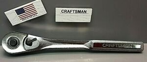 Craftsman 44809 1 2 Ratchet Handle New Old Stock Made In Usa
