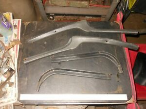1973 77 Monte Carlo Grand Prix T Top Door Trim Rear Edge Molding Upper Lower