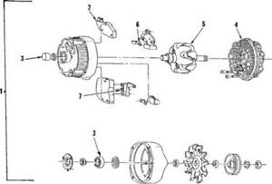 Genuine Gm 1985 1991 Buick Oldsmobile Pontiac Alternator Generator 10463094