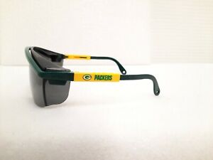 Uvex Astrospec 3000 Green Bay Packers Smoke Lens Safety Glasses