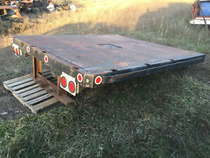 Dodge 3500 Flat Bed Truck 5th Wheel Receiver 9 Ft Dually Chevy Ford All Steel