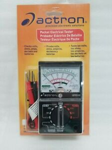 Brand New Actron Analog Electrical Tester Cp7848