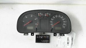 Speedometer Sedan Turbo Kph 1j0920805l Fits 01 Vw Jetta 90059